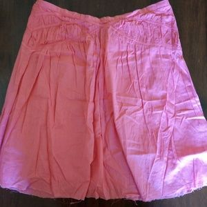 Vintage Lux (Urban Outfitters) distressed skirt